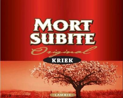 Mort Subite Original Kriek