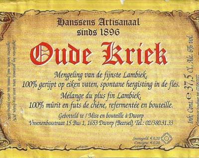 Hanssens Oude Kriek